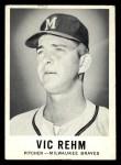 1960 Leaf #61 SML  Vic Rehm Front Thumbnail