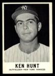 1960 Leaf #33  Ken Hunt  Front Thumbnail