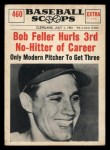 1961 Nu-Card Scoops #460   Bob Feller Front Thumbnail
