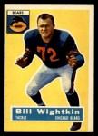 1956 Topps #107   Bill Wightkin Front Thumbnail