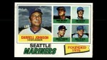 1977 Topps #597  Mariners Field Leaders  -  Darrell Johnson / Don Bryant / Vada Pinson / Jim Busby / Wes Stock Front Thumbnail