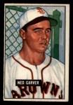 1951 Bowman #172  Ned Garver  Front Thumbnail