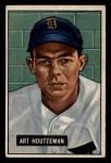 1951 Bowman #45  Art Houtteman  Front Thumbnail