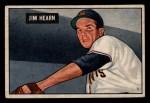 1951 Bowman #61   Jim Hearn Front Thumbnail