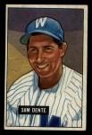 1951 Bowman #133  Sam Dente  Front Thumbnail