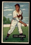 1951 Bowman #115  Steve Gromek  Front Thumbnail