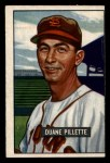 1951 Bowman #316   Duane Pillette Front Thumbnail