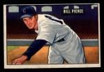 1951 Bowman #196   Bill Pierce Front Thumbnail