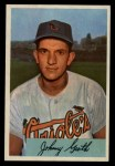 1954 Bowman #165  Johnny Groth  Front Thumbnail