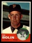 1963 Topps #106  Bobby Bolin  Front Thumbnail