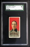 1909 T206 #92 POR Fred Clarke  Front Thumbnail