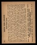 1941 Gum Inc. Uncle Sam Home Defense #77  Anti-Tank Team  Back Thumbnail
