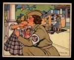 1941 Gum Inc. Uncle Sam Home Defense #102  Women's Duties  Front Thumbnail