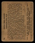 1941 Gum Inc. Uncle Sam Home Defense #56  Submarine Dive Drill  Back Thumbnail