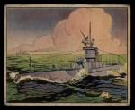 1941 Gum Inc. Uncle Sam Home Defense #59  Submarine Battle Drill  Front Thumbnail