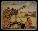 1941 Gum Inc. Uncle Sam Home Defense #66  Machine Gun Practice  Front Thumbnail
