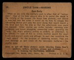 1941 Gum Inc. Uncle Sam Home Defense #30   Sea Duty Back Thumbnail
