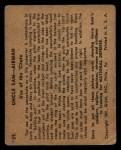 1941 Gum Inc. Uncle Sam Home Defense #39  Use Of The Chute  Back Thumbnail