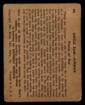 1941 Gum Inc. Uncle Sam Home Defense #48  Planes At Sea  Back Thumbnail