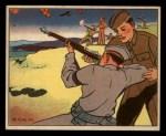 1941 Gum Inc. Uncle Sam Home Defense #105  Home Guard Rifle Practice  Front Thumbnail