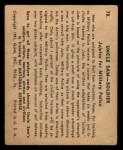 1941 Gum Inc. Uncle Sam Home Defense #78  Jujutsu For Military Police  Back Thumbnail