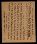 1941 Gum Inc. Uncle Sam Home Defense #119  Civilian Pilot Reserve  Back Thumbnail