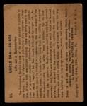 1941 Gum Inc. Uncle Sam Home Defense #55  Life On Submarine  Back Thumbnail