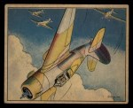 1941 Gum Inc. Uncle Sam Home Defense #42   Stunts In Combat Front Thumbnail