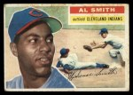 1956 Topps #105   Al Smith Front Thumbnail