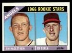 1966 Topps #417  Angels Rookies  -  Jim McGlothlin / Ed Sukla Front Thumbnail