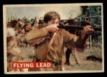 1956 Topps Davy Crockett #12 ORG  Flying Lead  Front Thumbnail