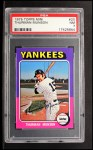 1975 Topps Mini #20   Thurman Munson Front Thumbnail
