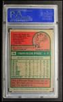 1975 Topps #76  Ed Sprague  Back Thumbnail