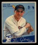 1934 Goudey #30   Julius Solters Front Thumbnail
