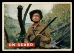 1956 Topps Davy Crockett #26 ORG  On Guard  Front Thumbnail