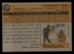 1960 Topps #139   -  Carl Mathias Rookies Back Thumbnail