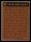 1972 Topps #493  Boyhood Photo  -  Bob Bailey Back Thumbnail