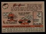 1958 Topps #192  Milt Graff  Back Thumbnail