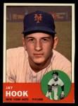 1963 Topps #469  Jay Hook  Front Thumbnail
