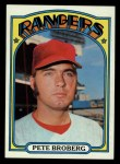 1972 Topps #64   Pete Broberg Front Thumbnail