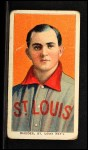 1909 T206 #411  Charlie Rhodes  Front Thumbnail