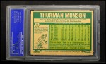 1977 O-Pee-Chee #30   Thurman Munson Back Thumbnail