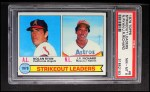 1979 Topps #6  Strikeout Leaders    -  J.R. Richard / Nolan Ryan Front Thumbnail
