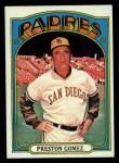 1972 Topps #637  Preston Gomez  Front Thumbnail