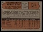 1972 Topps #631  John Strohmayer  Back Thumbnail