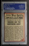 1962 Topps Civil War News #84   Deadly Arrows Back Thumbnail