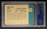 1961 Fleer #51  Tom Gola  Back Thumbnail