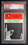 1961 Fleer #57   Rudy LaRusso Front Thumbnail