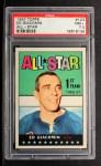 1967 Topps #123  All-Star  -  Ed Giacomin Front Thumbnail
