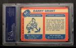 1968 Topps #52  Danny Grant  Back Thumbnail